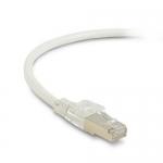 BlackBox C6APC80S-WH-10, 10′ CAT6A Patch Cable