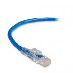 BlackBox C6PC70-BL-07, 7′ Lockable Patch Cable, Blue