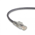 BlackBox C6PC70-GY-15, 15′ Lockable Patch Cable