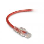 BlackBox C6PC70-RD-10, 10′ CAT6 Lockable Patch Cable