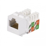 BlackBox FMT929-R2-25PAK, CAT5e Jack, Universal Wiring, White, 25 pcs
