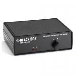 BlackBox SW1002A, Fiber Optic A/B Switch, Latching, ST