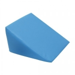 3B Scientific W15099LB, Light Blue Large Foam Wedge Pillow