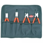 Knipex 00 19 56, Set of 4 Pc. Circlip Pliers