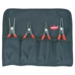 Knipex 00 19 57, Precision Circlip Pliers Set (4 pcs)