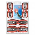 Knipex 00 20 04 SB, Precision Circlip Pliers Set, 8 Pcs.