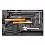 Beta Tools 024240059, T59 Assortment Set of 14 Tools in Hard Tray