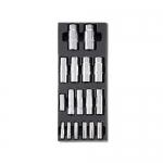 Beta Tools 024240103, T103 Assortment Set of Hexagon Hand Sockets