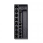 Beta Tools 024240110, T110 Assortment Set of 13 Impact Sockets