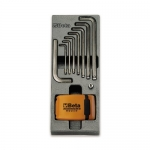 Beta Tools 024240259, T259 Assortment Set of Wrenches, Bits