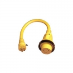 Marinco 104SPP-50.OEM, Pigtail Adapter, 30A 125V Straight Female