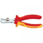 Knipex 11 06 160, Chrome Plated Insulated Stripper