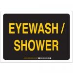 Brady 122501, B-401 Eye Wash/Shower Eye Wash… Sign