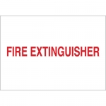 Brady 43291, 7″ x 10″ Aluminum Fire Extinguisher Sign