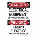Brady 125205, Danger Electrical Equipment… Sign