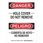 Brady 125245, Do Not Remove/_Cubierta De… Sign