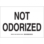Brady 125557, 10″ x 14″ Polystyrene Not Odorized Sign
