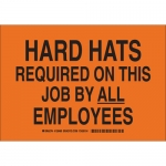 Brady 128482, Required On This Job By All Employees Sign