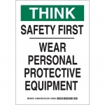 Brady 128962, First Wear Personal Protective… Sign
