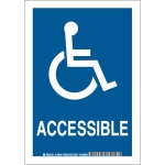 Brady 129404, 14″ x 10″ Polyester Accessible Sign