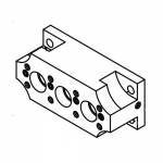 Cat Pumps 132956, Manifold Seal BBCP for 35FR Plunger Pumps 3550