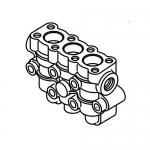 Cat Pumps 133143, Manifold Discharge BB for 15FR Plunger Pump 1580