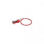 Brady 145550, SAFELEX 6′ Nylon Red Lockout Cable