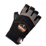 Ergodyne 17692, ProFlex 900 Half-Finger Impact Gloves S Size, Black