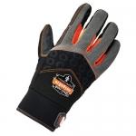 Ergodyne 17772, ProFlex 9001 Full-Finger Impact Gloves S Size, Black