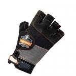 Ergodyne 17783, ProFlex 901 Half-Finger Leather Impact Gloves M Size