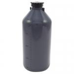 Dynalon 201295-2000, Polyethylene Kartell Narrow Grey Bottle