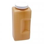 Dynalon 201315-2000A, Polyethylene Amber Graduated Bottle