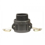 Milton 2102-7, B Style Cam and Groove Coupler, 3″ MNPT