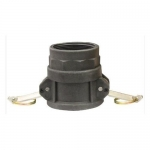 Milton 2104-7, D Style Cam and Groove Coupler, 3″ FNPT