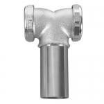 Dearborn 2186-1, 1-1/2″ Baffle Tee for Center Outlet Waste, 20 Gauge