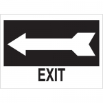 Brady 41018, 10″ x 14″ Aluminum Exit Sign