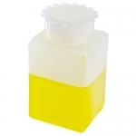 Dynalon 226295-0250, Polyethylene Kartell Rectangular Bottle