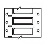 Brady 2HT-1000-2-WT-S-2, 129769 PVDF Wire Marking Sleeve