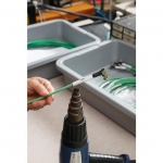 Brady 2HX-1000-2.3-WT-2, Double Sided Wire Marking Sleeve