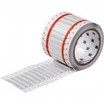 Brady 2HX-125-2.3-WT-2, PermaSleeve Wire Marking Sleeve