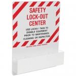 Brady 3012, 50181 30″ x 24″ AcryLIC Safety Lockout Center