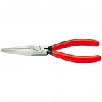 Knipex 30 11 140, Long Nose Pliers with Flat Jaws