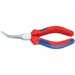 Knipex 31 25 160, Chrome Plated Flat Nose Pliers