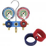Mastercool 33103-MRG, Manifold with Gauges only & Gauge Protectors