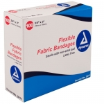 Dynarex 3611, 3/4in x 3in Adhesive Fabric Bandages Sterile