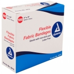 Dynarex 3612, 1in x 3in Adhesive Fabric Bandages Sterile