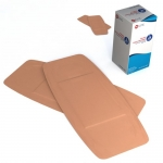 Dynarex 3614, 2in x 4 1/2in Adhesive Fabric Bandages Sterile