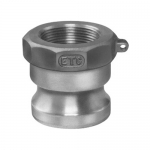 Ever-Tite 340ABR, (APG) Part A (Male Adapter X Female Thread) Brass