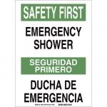 Brady 38758, Primero Emergencyshower Ducha… Sign