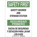Brady 38760, Primerosafety Shower & Eyewash… Sign